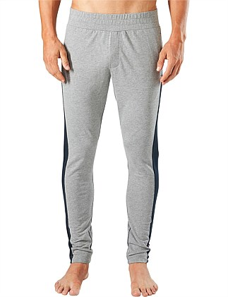 LONG LEG LOUNGE JOGGER WITH SPLICED LEG