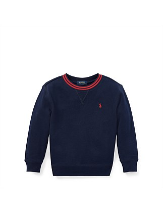 Cotton Blend Fleece Sweatshirt (4-7 Years)