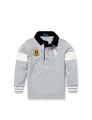 Big Pony Cotton Jersey Rugby Top (4-7 Years)