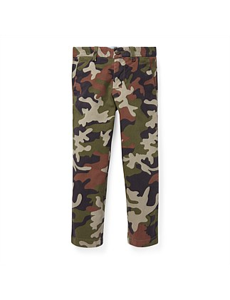 Camo Stretch Skinny Chino (4-7 Years)