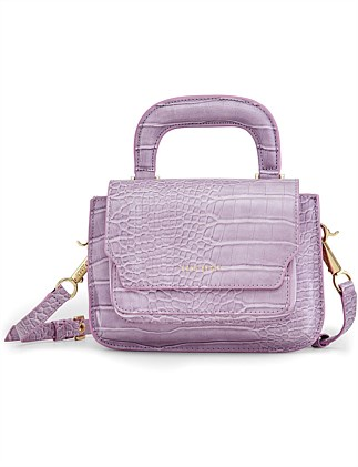 READER SATCHEL ALLIGATOR