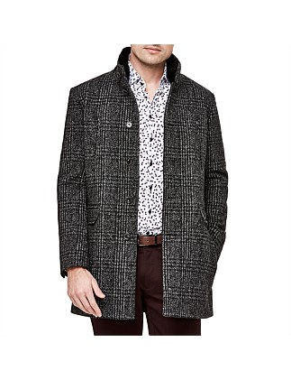 Benedict Wool Blend Trench Jacket