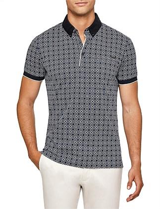Barrie Print Polo Shirt da2bfb3d3