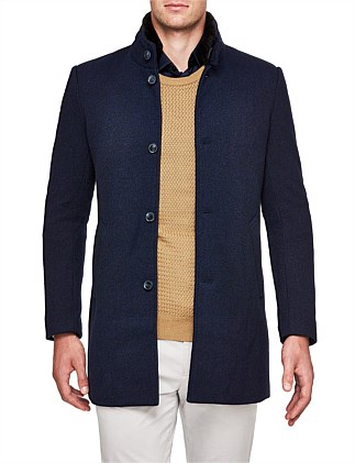Beech Wool Blend Trench Jacket