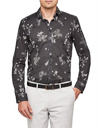 Milt Relaxed Fit Floral Shirt