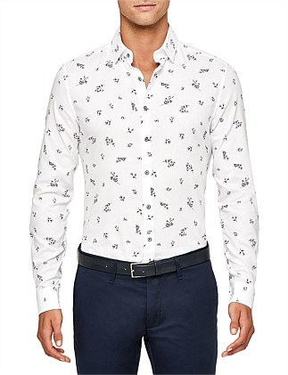 Phineas Slim Fit Floral Shirt