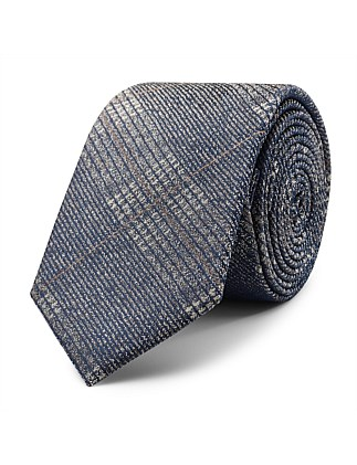Lorant Pattern Tie With Tie Bar