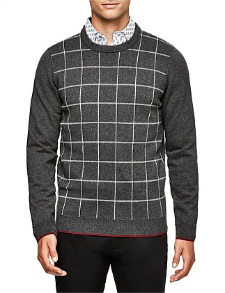 Johaan Cotton Blend Crew Knit