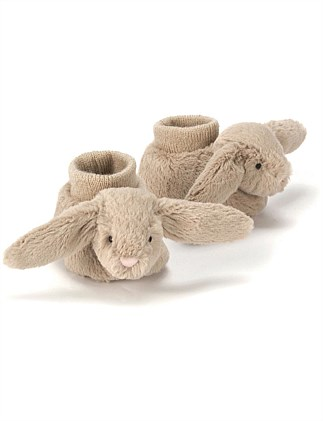 JELLYCAT BASHFUL CREAM BUNNY BOOTIES