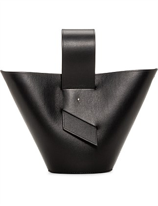 AMPHORA TOP HANDLE CROSS BODY BAG