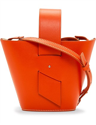 AMPHORA MINI TOP HANDLE CROSS BODY BAG