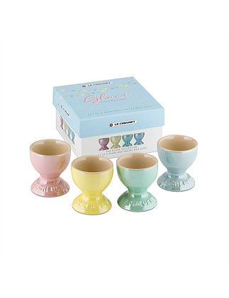 Glace Egg Cups Set of 4