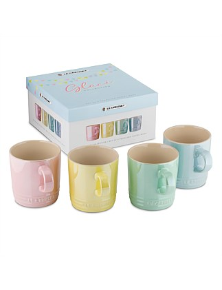 Glace Mugs 350ml Set Of 4