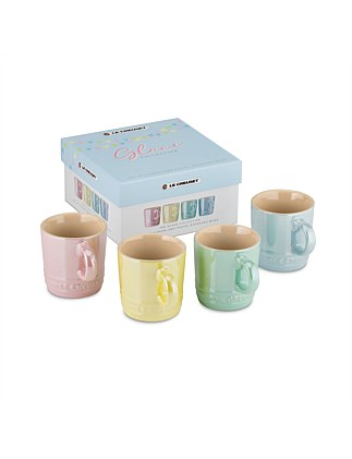 Glace Espresso Mugs 100ml Set Of 4