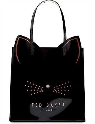 32f32592539fb6 CAT LARGE ICON BAG. Ted Baker