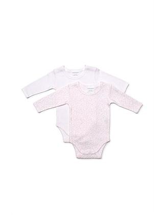 e11a2930cc888 2Pk Long Sleeve Bodysuits(NB-1Y) ...