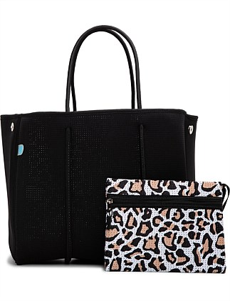 KALLI TOTE WITH LEOPARD LINING