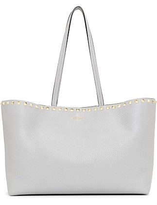 ROCKSTUD SMALL TOTE BAG