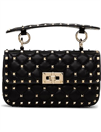 SPIKE SMALL SHOULDER BAG