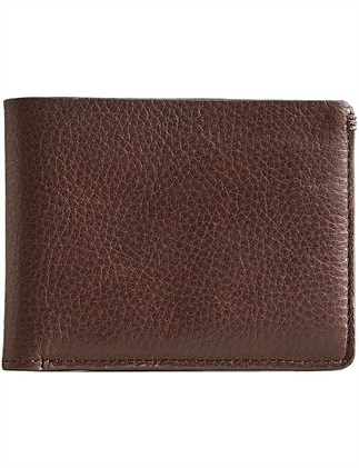 Bifold Pebble Leather Wallet