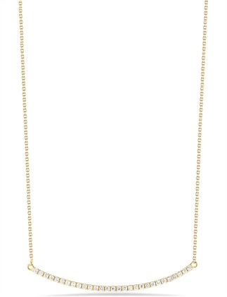 Bar Pave Necklace