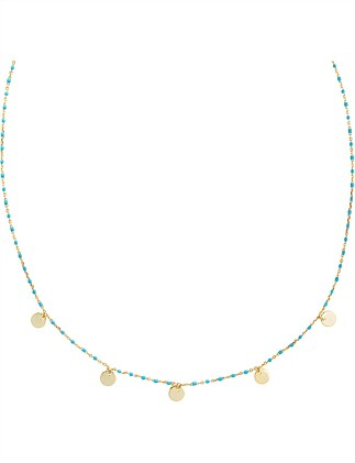 Disc Multi Necklace