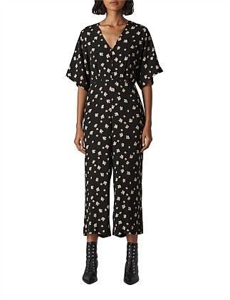 EDELWEISS BUTTON JUMPSUIT