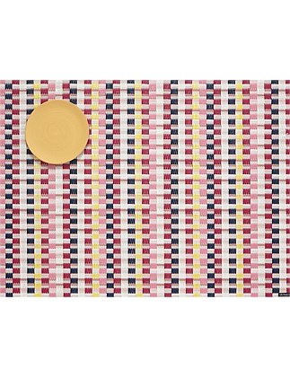 Heddle Placemat Pansy