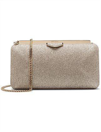 ELLIPSE DGZ DUSTY GLITTER CLUTCH