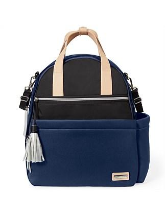 16ffcbe5ef7e Skip Hop Neoprene Diaper Backpack- Navy Black