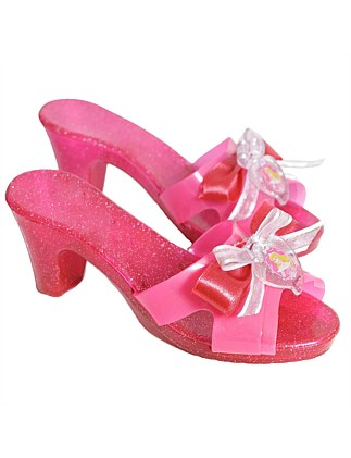 Sleeping Beauty Click Clack Shoes - Size 3+