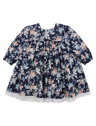 Liberty Ls Print Dress(3M-24M) ... 33d59f10251
