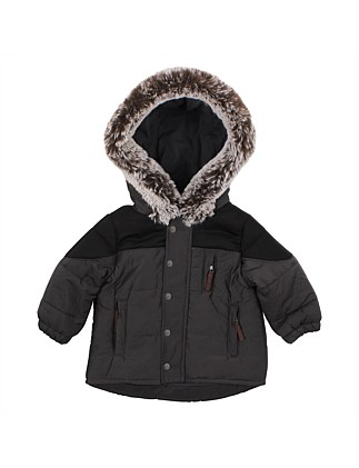 Boys Hooded Coat(6M-24M)