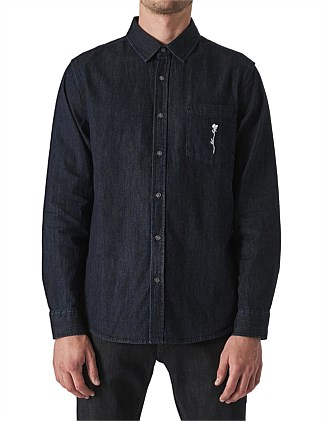 WAITS DENIM BR SHIRT