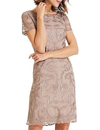 66ed7c8447 ALLANAH EMBROIDERED DRESS