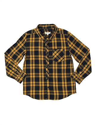 YARN DYE CHECK SHIRT