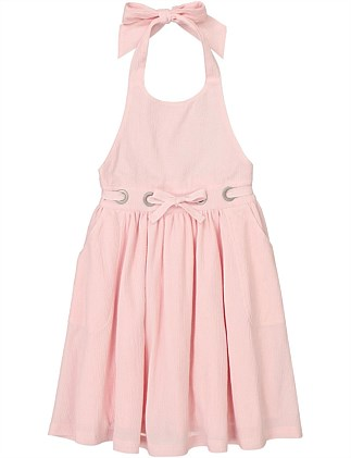 Bow Swing Dress (Girls 2-12)