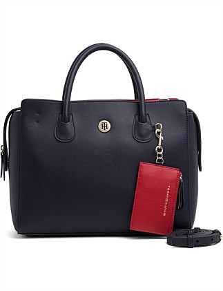 de8c5aaad2b CHARMING TOMMY SATCHEL Special Offer. Tommy Hilfiger