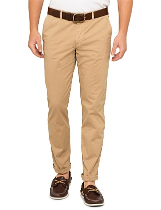 Mens Mid Fit Stitched Chino