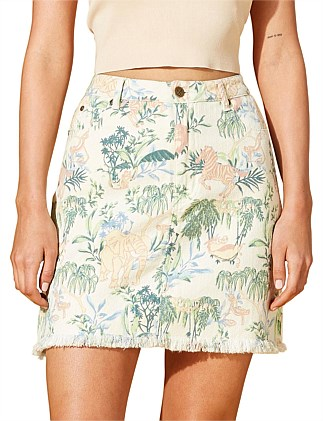 IN THE JUNGLE SKIRT