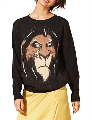 SCAR FACE SWEATER
