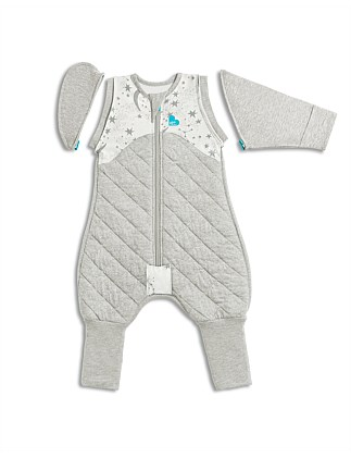 LTD SWADDLE UP TRANSITION SUIT WARM WHITE M