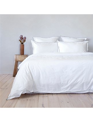 KING BED MASON QUILT COVER SET