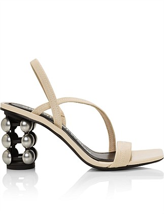 DEEDEE DOME HEEL SANDAL 80MM