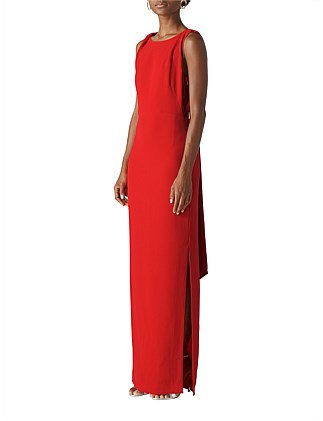 a3df25c62f1 TIE BACK MAXI DRESS Special Offer