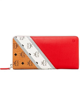 M MOVE VISETOS LRG ZIPPED WALLET