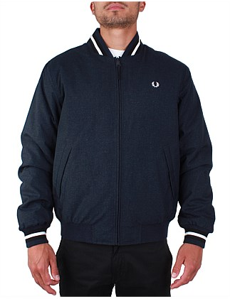 5db2d39f6 Marl Bomber Jacket. Fred Perry