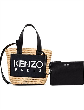 LOGO MINI BASKET BAG