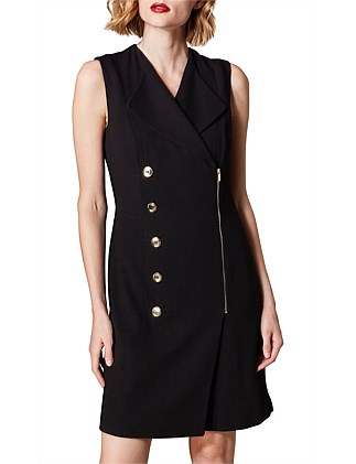 a29991262834f3 ABSTRACT TAILORED DRESS. Karen Millen