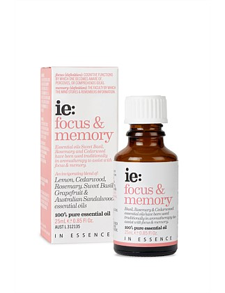 In Essence ie: FOCUS & MEMORY  25ML